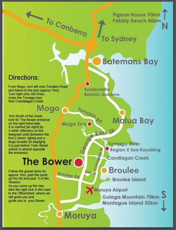 Bower Map