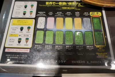 Suzukien x Nanaya Level 7 Matcha Green Tea Gelato