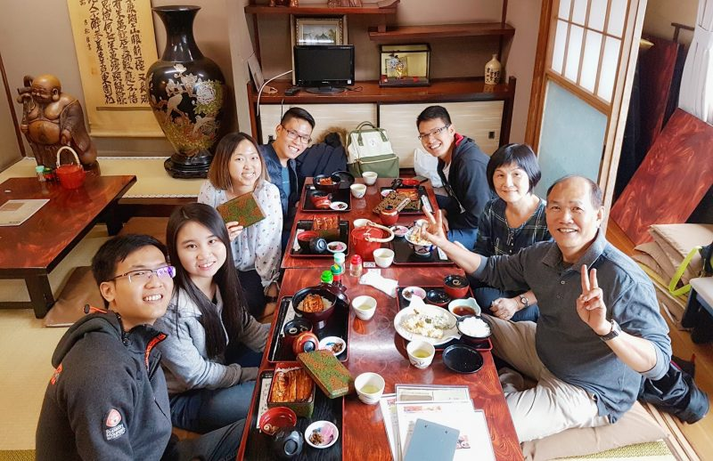 Omiya Narita Unagi Tokyo Japan