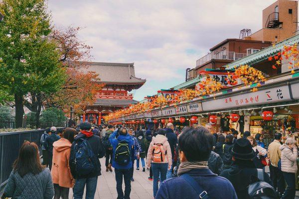 Japan Tokyo Asakusa Nakamise Street