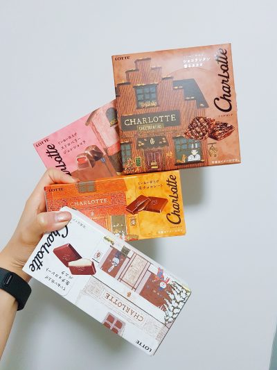 Lotte Charlotte Chocolate