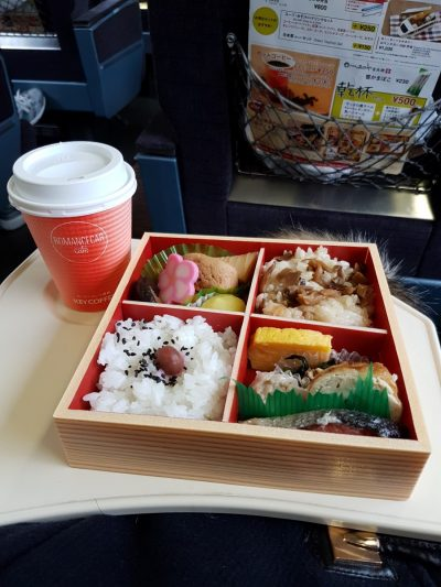 Hakone Express Train Bento