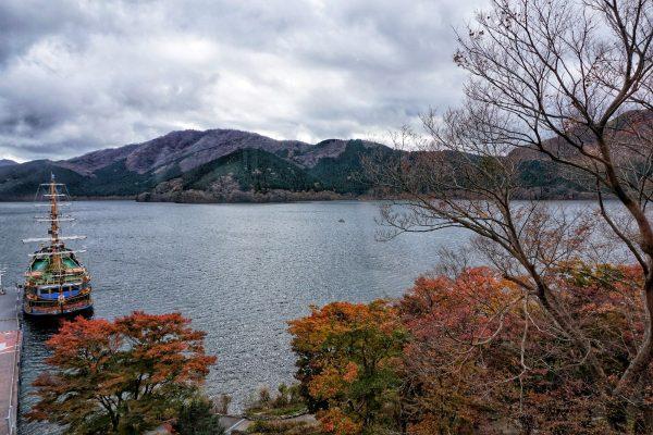 Hakone Lake Ashi Tokyo Japan
